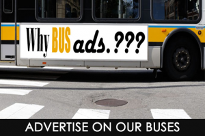 Advertise on our buses